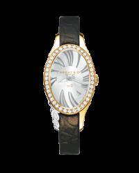 Bedat No 2  Quartz Women's Watch, 18K Rose Gold, Silver Dial, 207.330.602