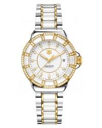 Tag Heuer Formula 1  Quartz Women's Watch, Ceramic, White & Diamond Dial, WAH1221.BB0865