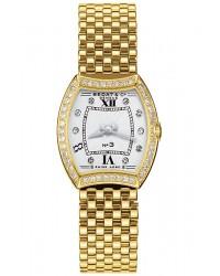 Bedat No 3  Quartz Women's Watch, 18K Yellow Gold, Silver Dial, 304.333.109