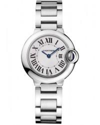 Cartier Ballon Bleu  Quartz Women's Watch, Stainless Steel, Silver Dial, W69010Z4