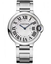 Cartier Ballon Bleu  Quartz Women's Watch, Stainless Steel, Silver Dial, W69011Z4