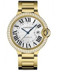 Cartier Ballon Bleu  Automatic Men's Watch, 18K Yellow Gold, Silver Dial, WE9007Z3