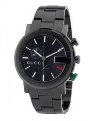 Gucci G-Chrono  Chronograph Quartz Men's Watch, PVD, Black Dial, YA101331