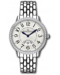 Jaeger Lecoultre Rendez-Vous  Quartz Women's Watch, Stainless Steel, Silver Dial, 3478121