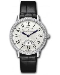 Jaeger Lecoultre Rendez-Vous  Quartz Women's Watch, Stainless Steel, Silver Dial, 3478422