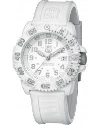 Luminox Colormark  Quartz Men's Watch, Plastic, White Dial, 3057.WO