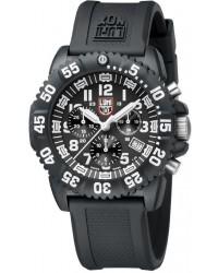 Luminox Sea Colormark  Chronograph Quartz Men's Watch, Plastic, Black Dial, 3081