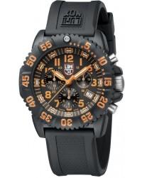 Luminox Colormark  Chronograph Men's Watch, Plastic, Black Dial, 3089