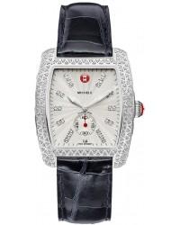 Michele Urban  Quartz Women's Watch, Stainless Steel, Silver & Diamonds Dial, MWW02T000006