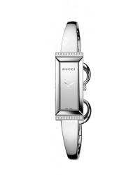 Gucci G-Frame  Quartz Women's Watch, Stainless Steel, Silver Dial, YA127505
