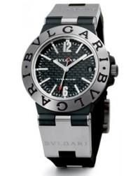 Bvlgari Diagono  Automatic Men's Watch, Titanium, Silver Dial, TI38BTAVD/SLN