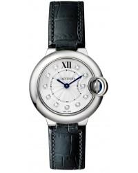 Cartier Ballon Bleu  Quartz Women's Watch, Stainless Steel, Silver Dial, W4BB0008
