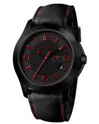Gucci G-Timeless  Quartz Men's Watch, PVD, Black Dial, YA126224