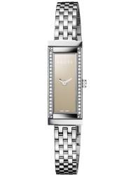 Gucci G-Frame  Quartz Women's Watch, Stainless Steel, Brown Dial, YA127508