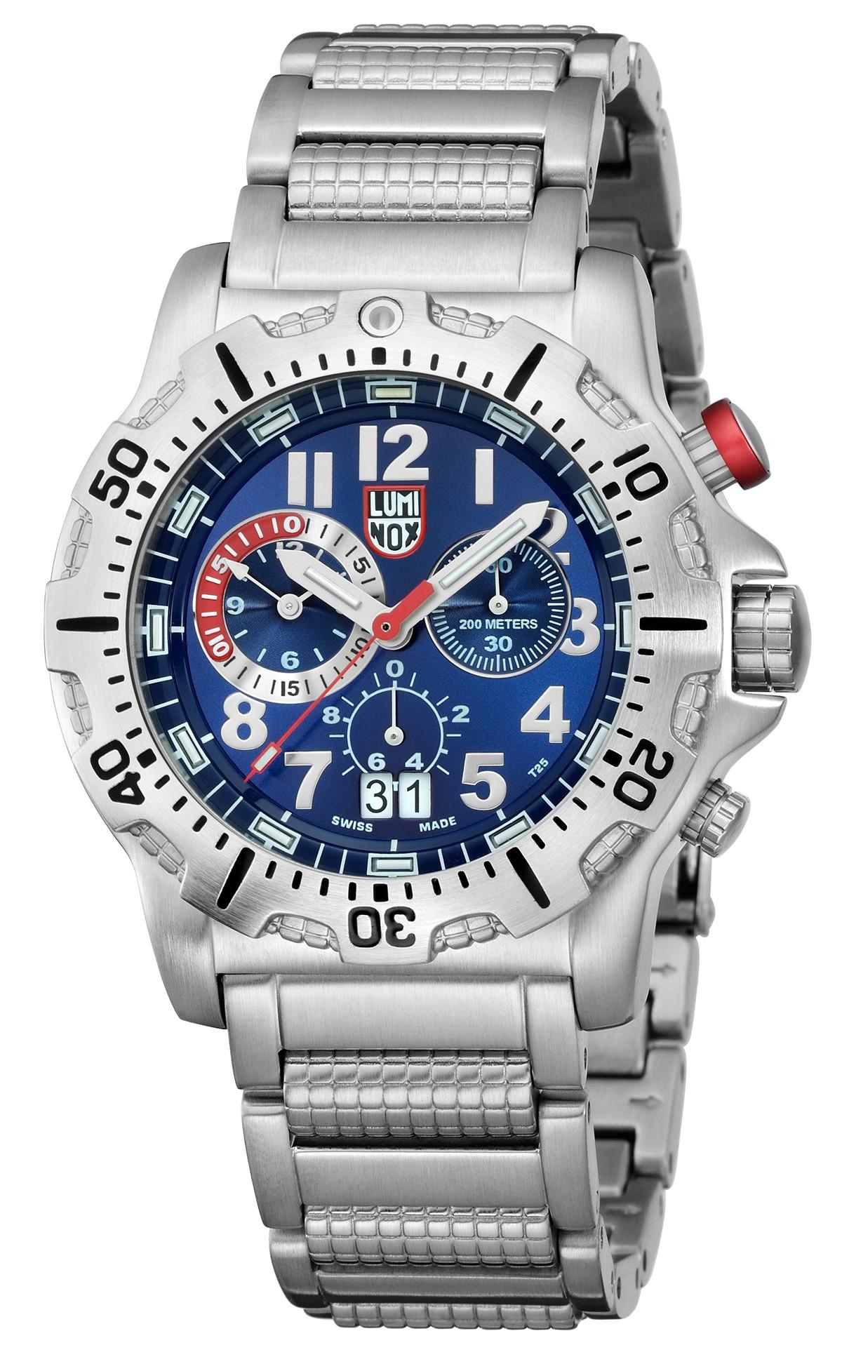 Luminox dive chrono 8154 rp men 39 s stainless steel watch - Luminox dive watch ...